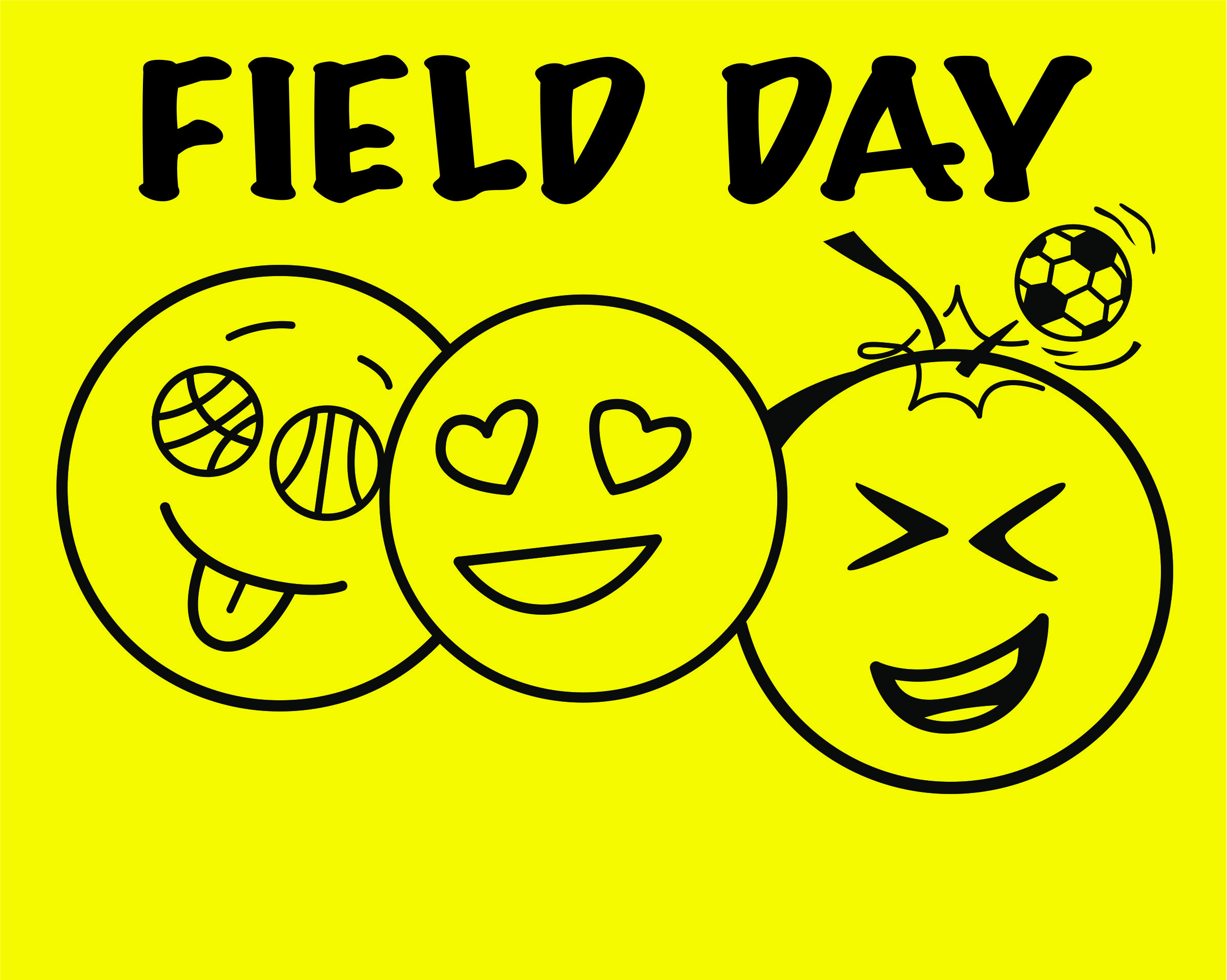 Adver tees field day chesapeake virginia t shirts for Field day t shirts